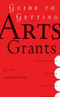 the cover of Guide to Getting Arts Grants