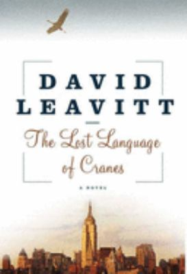Cover image for The lost language of cranes 