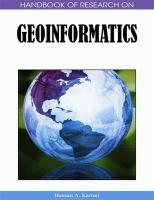 Geoinformatics catalog link