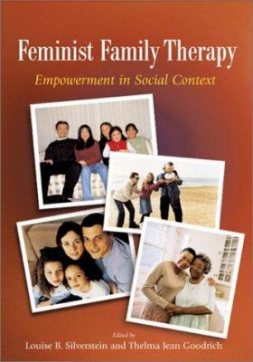 Book jacket for Feminist Family Therapy