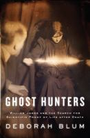 cover of Ghost Hunters: William James and the Search for Scientific Proof of Life