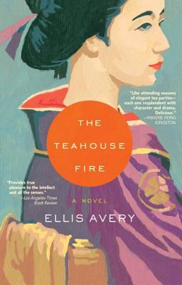 Cover image for The teahouse fire 