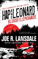 Hap And Leonard : Blood And Lemonade by Lansdale, Joe R. © 2017 (Added: 3/20/17)