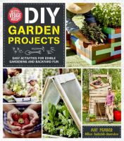 Little Veggie Patch Co. Diy Garden Projects : Easy Activities For Edible Gardening And Backyard Fun by Pember, Mat © 2016 (Added: 8/23/16)