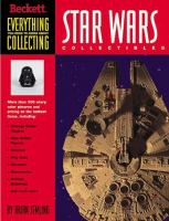 the cover of Everything You Need to Know about Collecting Star Wars Collectibles
