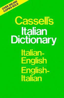 book cover for Cassell's Italian Dictionary