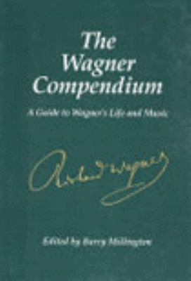 Green book cover with Richard Wagner's signature in white.