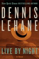 Cover art for Live by Night