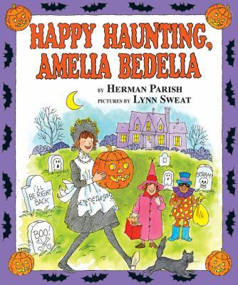 Cover image for Happy haunting, Amelia Bedelia