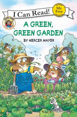 Cover image for A green, green garden