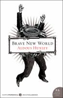 Cover art for Brave New World
