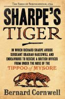 Cover art for Sharpe's Tiger