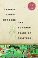 Cover art for One Hundred Years of Solitude
