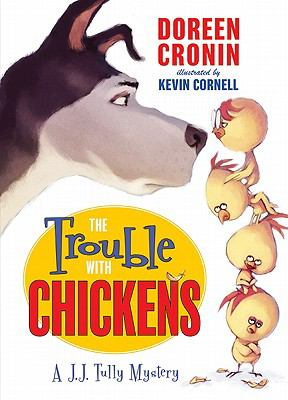 Cover image for The trouble with chickens