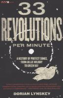 Cover Image, 33 Revolutions Per Minute