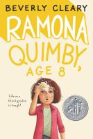 Cover art for Ramona Quimby, Age 8