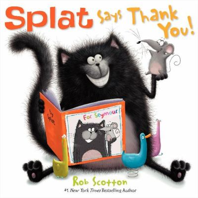 Cover image for Splat says thank you! 