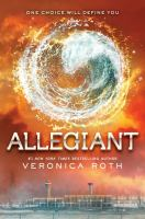 Cover art for Allegiant