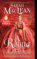 Cover art for A Rogue by Any Other Name