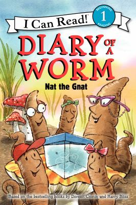 cover of Diary of a Worm: Nat the Gnat