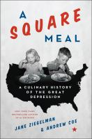 Cover art for A Square Meal