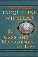 Cover art for The Care and Management of Lies
