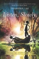 Cover art for Listen, Slowly