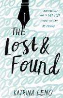 The Lost & Found by Leno, Katrina © 2016 (Added: 9/22/16)