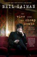 Cover art for The View from the Cheap Seats