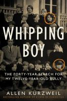 Cover art for Whipping Boy