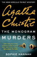 Cover art for The Monogram Murders