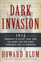 Cover art for Dark Invasion