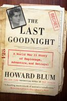 Cover art for The Last Goodnight