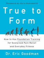 Cover art for True to Form