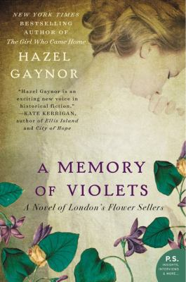 cover of A Memory of Violets: A Novel of London's Flower Sellers