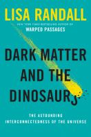 Cover of Dark Matter and the Dinosaurs