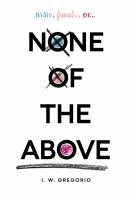 Cover art for None of the Above