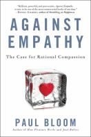 Cover art for Against Empathy