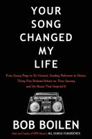 Cover art for Your Song Changed My Life
