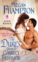Cover art for The Duke's Guide to Correct Behavior