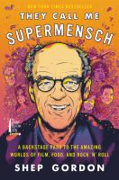 Cover art for They Call Me Supermensch