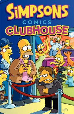 cover of Simpsons Comics Clubhouse
