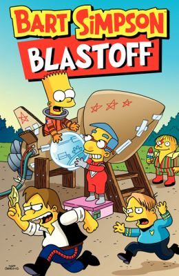 cover of Bart Simpson Blastoff