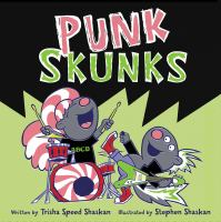 Cover art for Punk Skunks