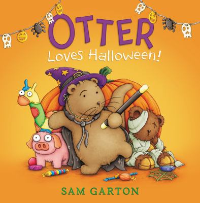 cover of Otter Loves Halloween