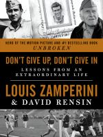 Cover art for Don't Give Up, Don't Give In