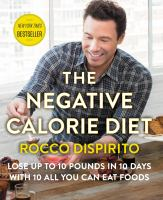 Cover art for The Negative Calorie Diet