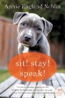 Cover art for Sit! Stay! Speak!