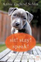 Cover art for Sit! Stay! Speak!