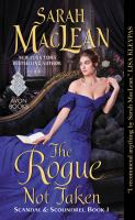 Cover art for The Rogue Not Taken